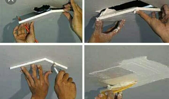 Cara Memperbaiki Plafon Berbahan Gypsum